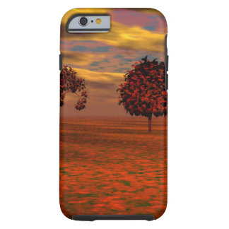 Autumn Colors Maple Trees Art Gifts Tough iPhone 6 Case