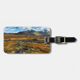 Autumn colors on the landscape luggage tag