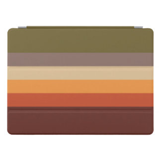 Autumn Colors - Red Orange Yellow Tan Green Brown iPad Pro Cover
