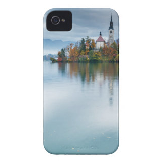 Autumn colours at Lake Bled iPhone 4 Case