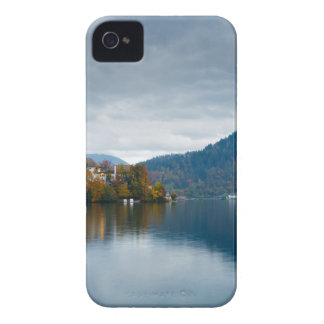 Autumn colours at Lake Bled iPhone 4 Case-Mate Case