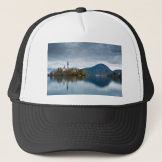 Autumn colours at Lake Bled Trucker Hat