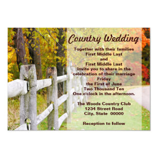 Autumn Country Invitations