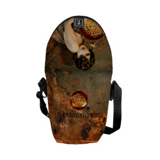 Autumn Dark Eyed Bee Fae messenger bag