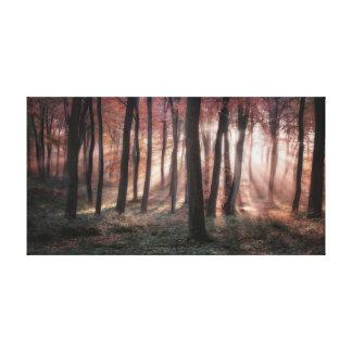 Autumn Dawn Canvas Print