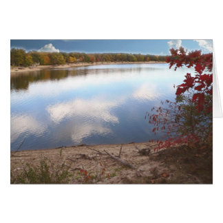 Autumn Day At The Lake 200510 Greeting Card