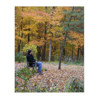 Autumn Day Dreaming Acrylic Print