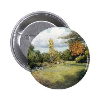Autumn Days by Julian Alden Weir Buttons