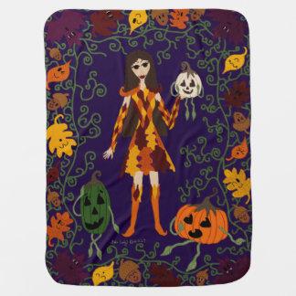 Autumn Faerie Baby Blanket