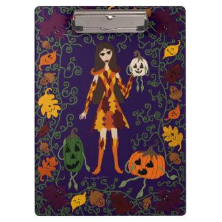 Autumn Faerie Clipboard
