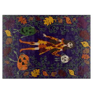 Autumn Faerie Cutting Board