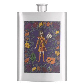 Autumn Faerie Hip Flask