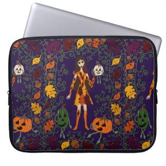 Autumn Faerie Laptop Sleeve