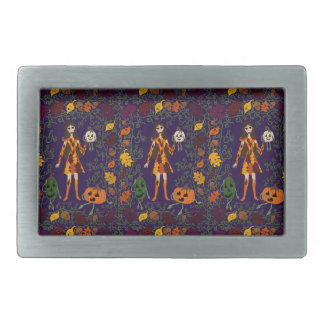 Autumn Faerie Rectangular Belt Buckle