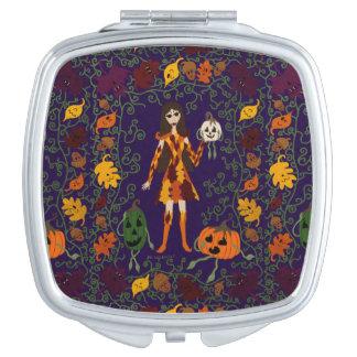 Autumn Faerie Travel Mirrors