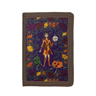 Autumn Faerie Tri-fold Wallet