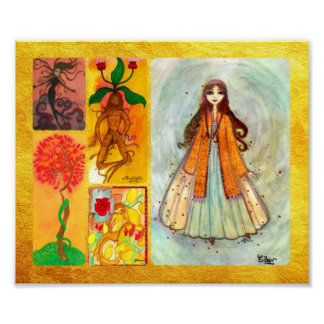 Autumn Faeries Archival Print