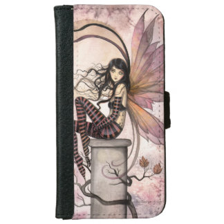 Autumn Fairy Fantasy Art Illustration iPhone 6 Wallet Case