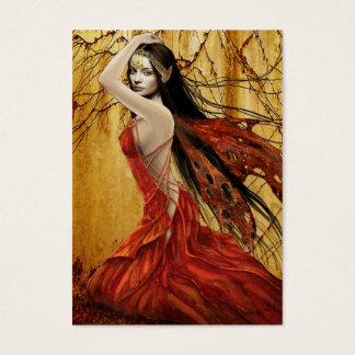 Autumn Fairy Gift Tag