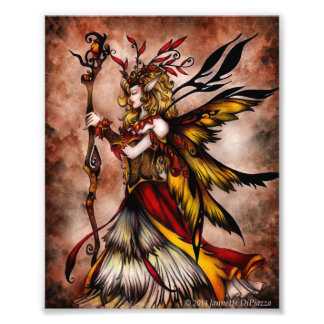 Autumn Fairy Photo Print