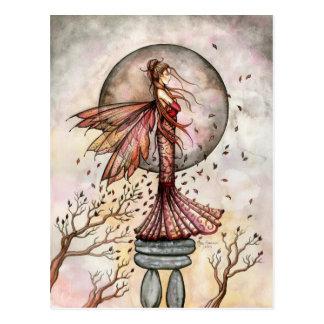 Autumn Fairy Postcard by Molly Harrison