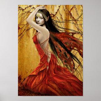 Autumn Fairy Poster