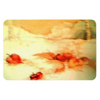 Autumn Fall Acorns Leaf Premium Flexi Magnet