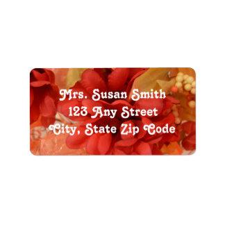 Autumn/Fall Address Labels