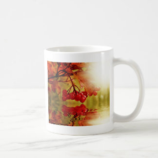 Autumn Fall Colorful Leaves Tree Leaf Park Forest Coffee Mugs