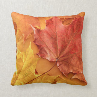 AUTUMN FALL LEAVES CUSHION