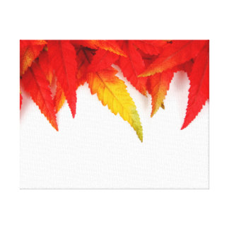 Autumn/Fall Leaves Fire Colors Canvas Canvas Print