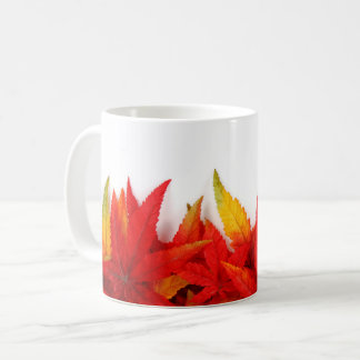 Autumn/Fall Leaves Fire Colors Coffee Mug