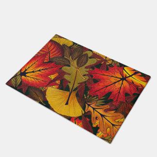 Autumn / Fall Leaves - Floor/Door Mat/Rug Doormat
