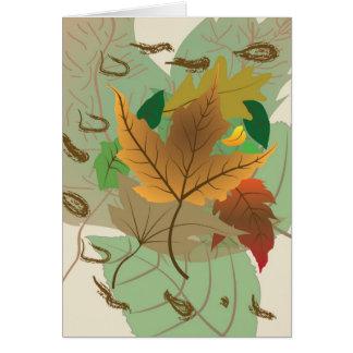 Autumn Falls Card