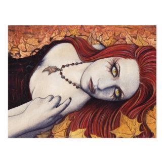 Autumn Fantasy Postcard