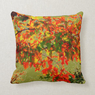 'Autumn Fire' Throw Pillow