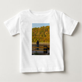 Autumn Fishing Lake Springfield Baby T-Shirt