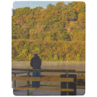 Autumn Fishing Lake Springfield iPad Cover