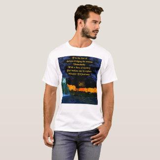 Autumn Flames Poetry Men's Basic T-Shirt