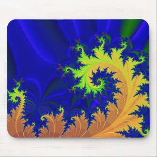 autumn flora: living tips mouse pad