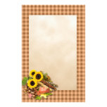 Autumn Floral Arangement Personalized Stationery