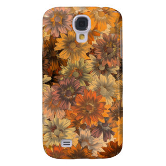 Autumn floral galaxy s4 cover