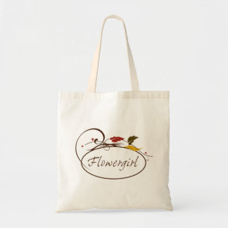 Autumn Flowergirl Bag