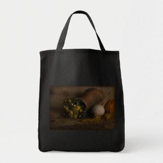 Autumn Flowers Canvas Bags