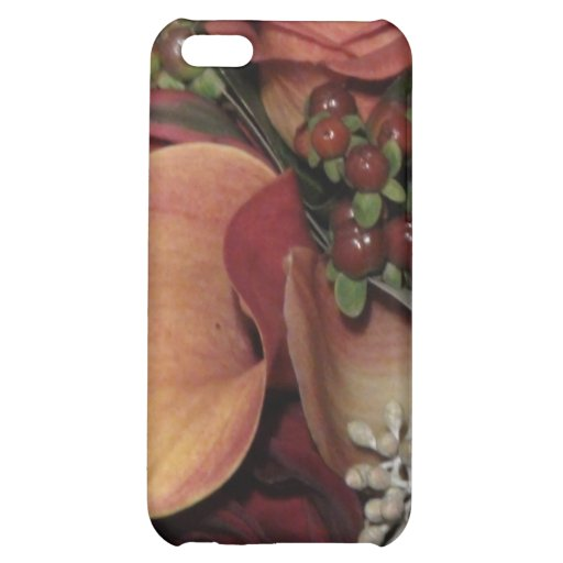 Autumn Flowers Case For iPhone 5C