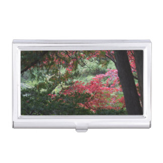 Autumn Forest Business Card Holder