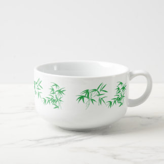 Autumn Forest China Mug Soup Bowl With Handle