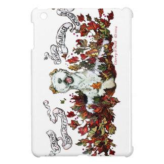 Autumn Fox Terrier iPad Mini Covers
