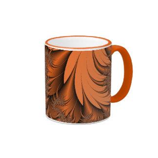Autumn Fractals Ringer Mug