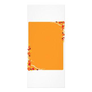 Autumn Frame Rack Card Design